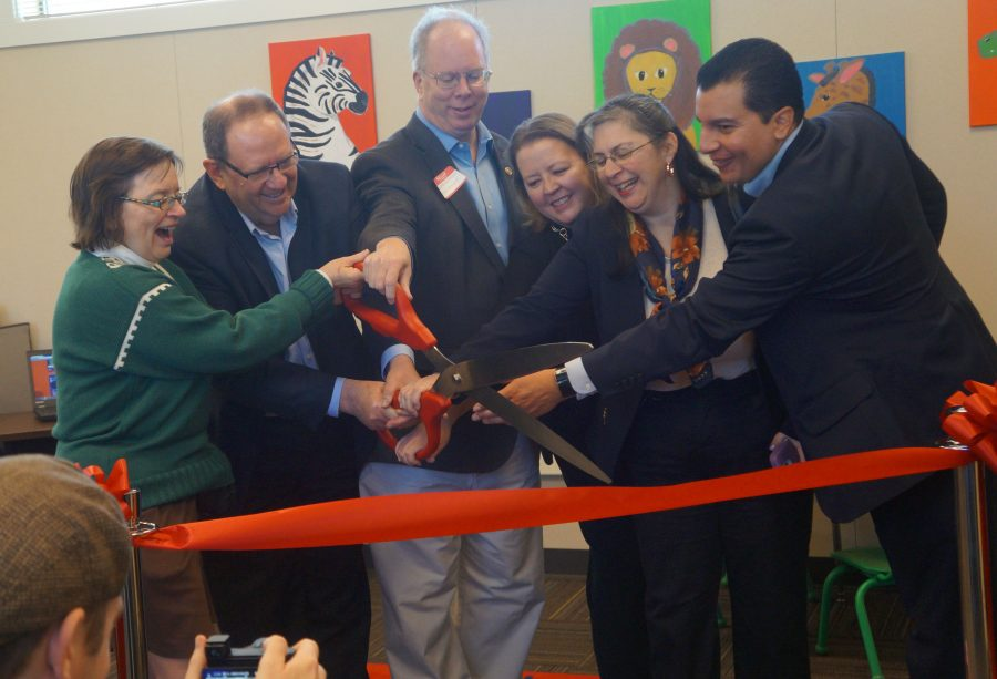 The new Parent Education Center of SCUSD welcomes students