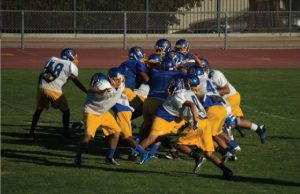Football team takes precautions against concussions on the field