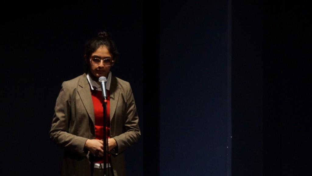 Junior Viraj Patel as the Historian.