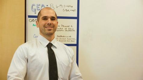 Q&A with math teacher Christopher Gallick