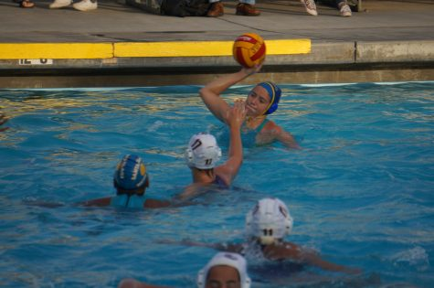Girls varsity water polo loses to Monta Vista after a tight game