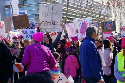 One reporter shares her experience of the Women's March