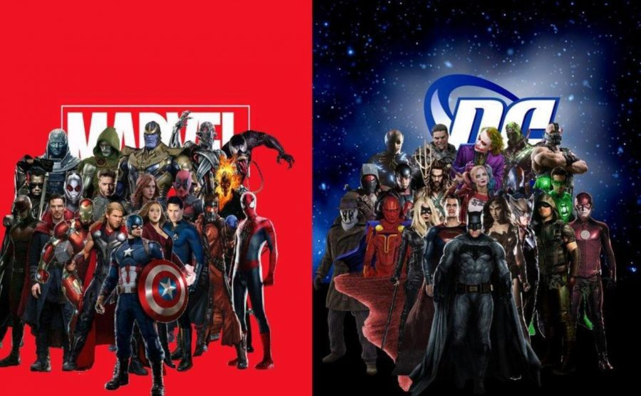 The+worlds+of+Marvel+and+DC+are+often+debated+and+fought+over.