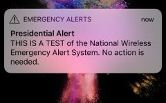 The alert caused the many phones of SCHS to vibrate.
