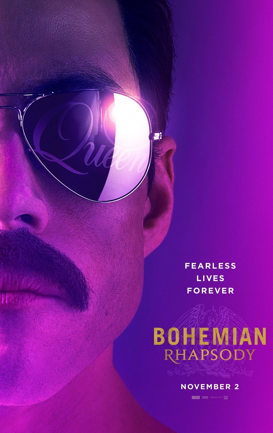 The film stars Rami Malek as Freddie Mercury.