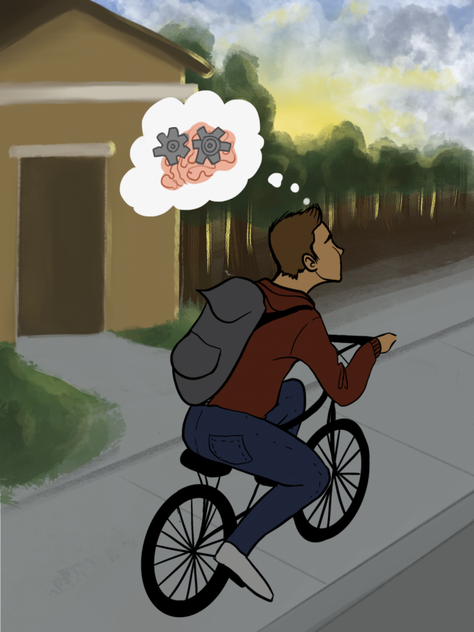 OPINION: Students should bike and walk to school