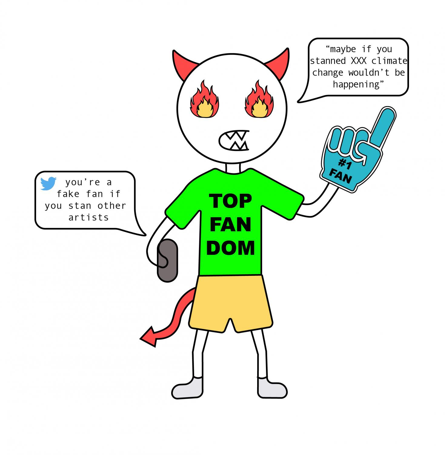 Fans often verbally attack each other, creating a toxic environment.
