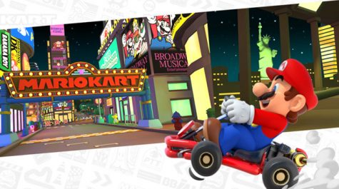 Mario Kart Tour takes high school students by storm offering easy, nostalgic game play