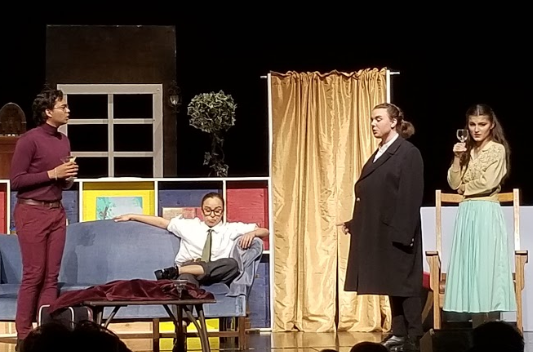 REVIEW: SCHS Theatre Department's 'Black Comedy' is interactive and humorous