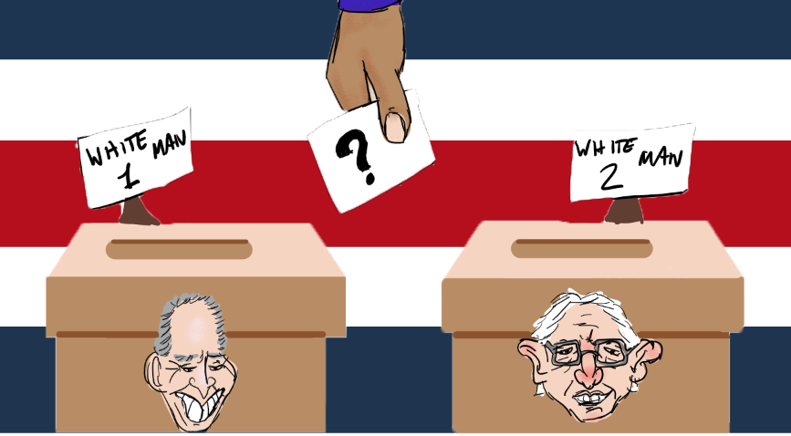 The current Democratic candidates are not representative of their voters.