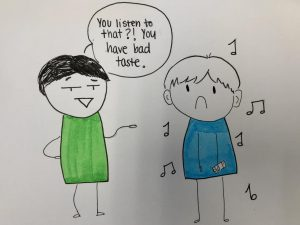 SCHS students experience judgment for their unique music tastes