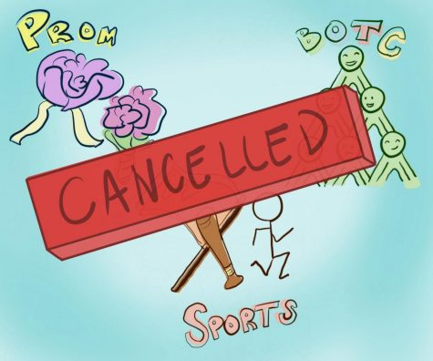 Many events and activities have been cancelled because of COVID-19.