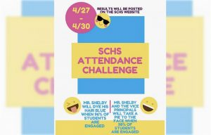 The official SCHS Instagram posted this e-flyer on Monday, Apr. 27.