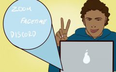Zoom, FaceTime and Discord are popular apps among the SCHS student body.