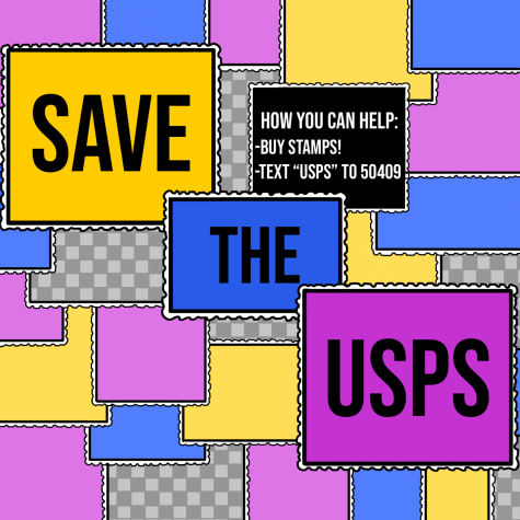 "To help save the USPS, buy stamps and text ""USPS"" to 50409."