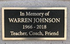 Johnson's memorial can be found next to SCHS' Health classroom.