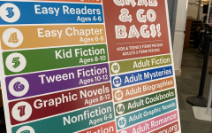 Each Grab & Go Bag contains five books, including some newer releases and some old.