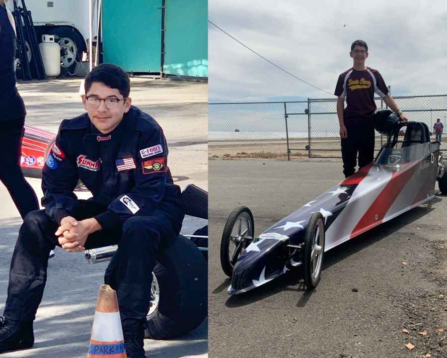 Josh+DeSousa+has+been+racing+since+2018+and+has+been+to+Las+Vegas+for+his+competitions+every+year+since.+Racers+can+customize+their+cars%2C+and+Josh+DeSousa+chose+to+don+the+American+flag+on+his.+