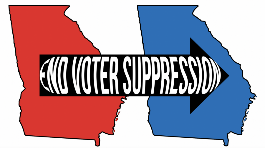 Georgia has been a red state since 1992, but its recent blue victory shows it was probably due to disproportionate voter suppression.