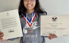 Jain received her award through the Jain Center of Northern California, which she has been a part of for seven years.