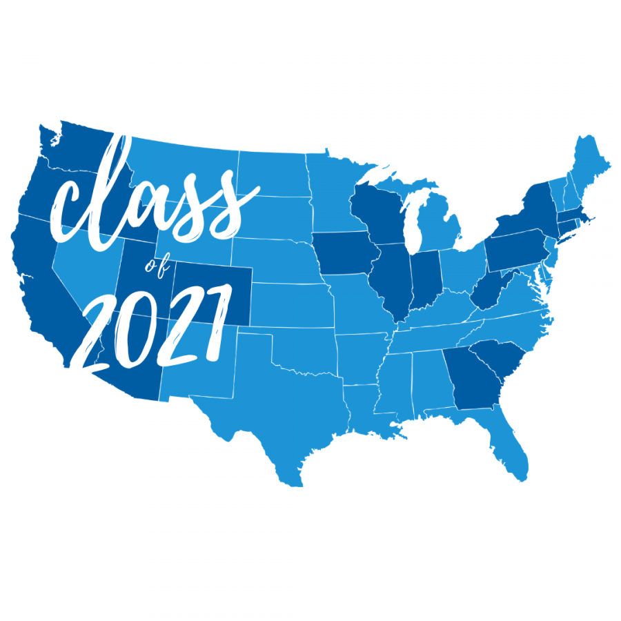 SENIOR SECTION: 2020-2021 Graduation Map